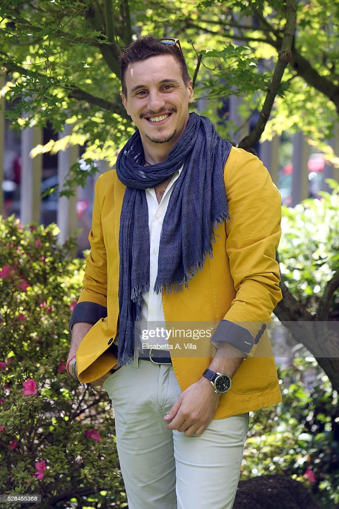 Alessandro Idonea attends a photocall for 'Felicia Impastato' RAI TV movie at Viale Mazzini on May 5, 2016 in Rome, Italy.