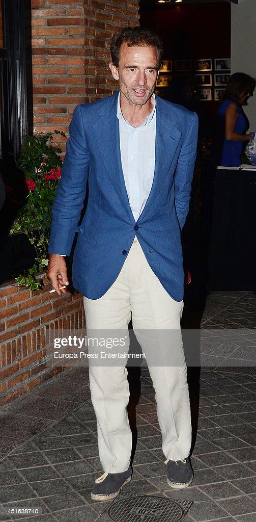 Alessandro Lequio is seen on June 18, 2014 in Madrid, Spain.