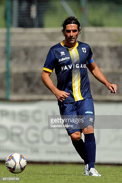 Alessandro Lucarelli of Parma Calcio 1913 in action durnig the Serie D match between Gubbio and Parma Calcio 1913 on May 14 2016 in Sansepolcro Italy