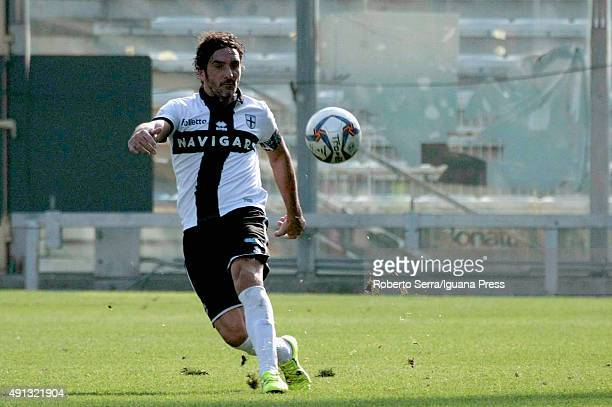 Alessandro Lucarelli of Parma in action during the Serie D match between Parma Calcio 1913 and Correggese Calcio 1948 ARL at Stadio Ennio Tardini on...