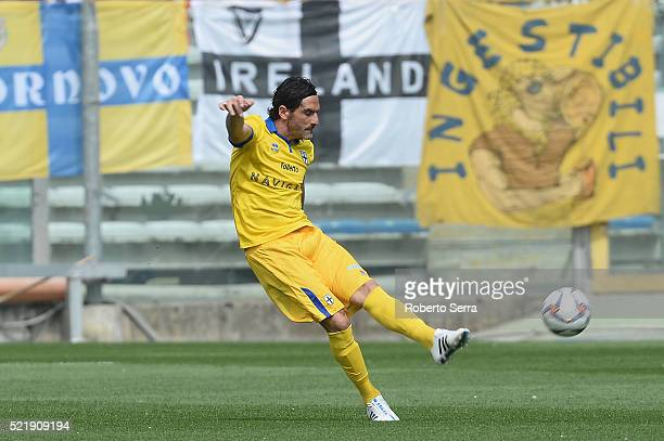 Alessandro Lucarelli of Parma in action during the Serie D match between Parma Calcio 1913 and Delta Rovigo at Stadio Tardini on April 17 2016 in...