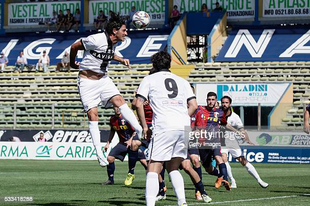 Alessandro Lucarelli of Parma in action during the Serie D match between Parma Calcio 1913 and Sambenedettese at Stadio Ennio Tardini on May 22 2016...