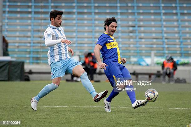 Alessandro Lucarelli of Parma in action durnig the Serie D match between Romagna Centro and Parma Calcio 1913 on March 13 2016 in Cesena Italy