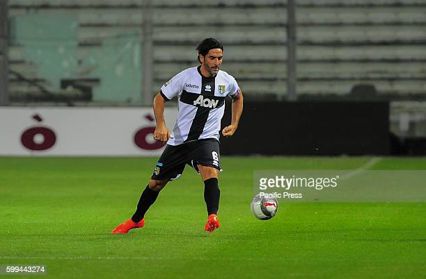 Alessandro Lucarelli Parma's defender during the National Championship League Pro match between Parma Calcio 1913 and Lumezzane at Tardini Stadium...