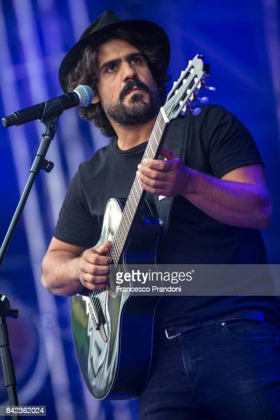 Alessandro Mannarino Perform At Home Festival on stage on September 3 2017 in Treviso Italy