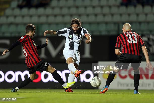 Alessandro Marotta of Robur Siena in action during the Serie Lega Pro match between Robur Siena and Pro Piacenza at Stadio Artemio Franchi on October...