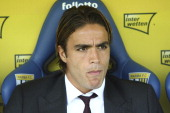 Alessandro Matri looks on before the Serie A match between Parma FC and AC Milan at Stadio Ennio Tardini on October 27 2013 in Parma Italy