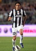 Alessandro Matri of Juventus during the Serie A match between Atalanta BC and Juventus at Stadio Atleti Azzurri d'Italia on May 8 2013 in Bergamo...