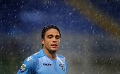 Alessandro Matri of SS Lazio looks on during the Serie A match between SS Lazio and Udinese Calcio at Stadio Olimpico on September 13 2015 in Rome...
