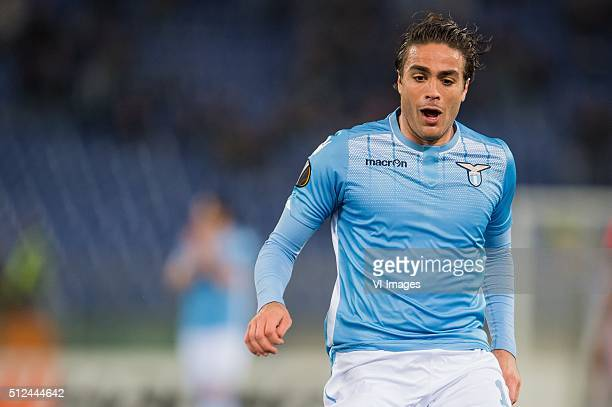 Alessandro Matri of SS Lazio Roma during the UEFA Europa League round of 32 match between SS Lazio and Galatasaray on February 25 2016 at the Stadio...