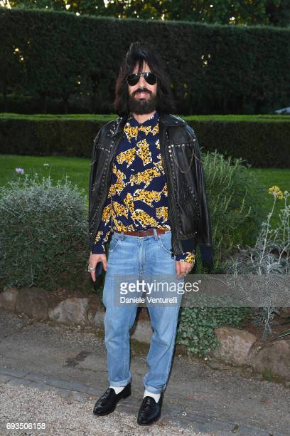 Alessandro Michele attends McKim Medal Gala at Villa Aurelia on June 7 2017 in Rome Italy