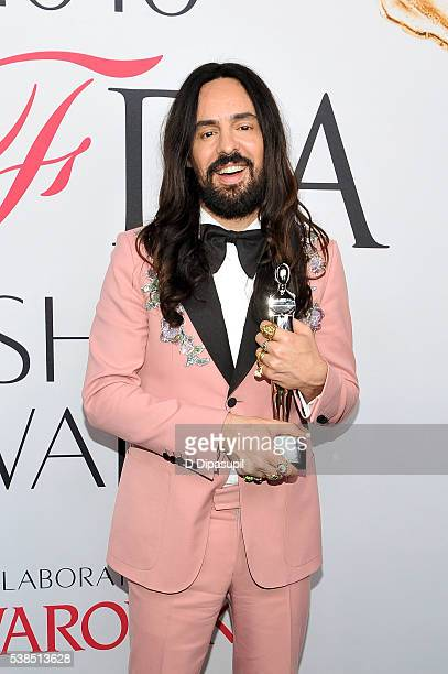 Alessandro Michele attends the 2016 CFDA Fashion Awards at the Hammerstein Ballroom on June 6 2016 in New York City