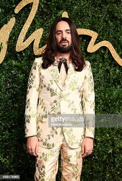 Alessandro Michele attends the British Fashion Awards 2015 at London Coliseum on November 23 2015 in London England