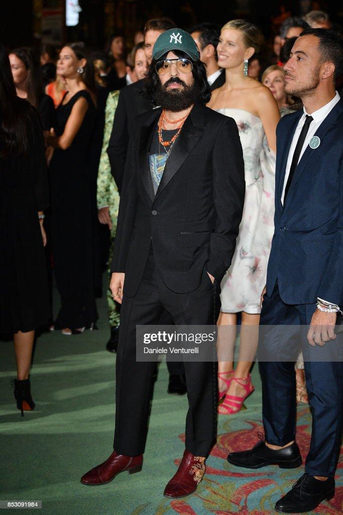 alessandro-michele-attends-the-green-carpet-fashion-awards-italia-picture-id853091984