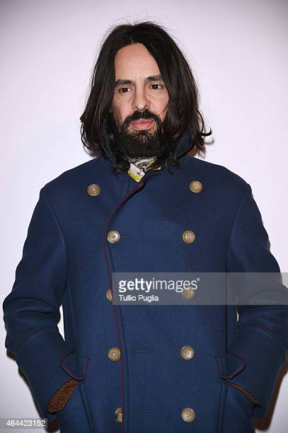 Alessandro Michele attends the Vogue Talent's Cornercom on February 25 2015 in Milan Italy