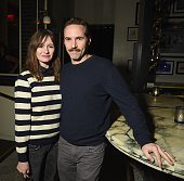 Alessandro Nivola and Emily Mortimer attend 'While We're Young' New York Premiere after party at Lexington Brass on March 23 2015 in New York City