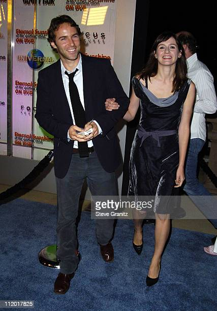 Alessandro Nivola and wife Emily Mortimer during 'Eternal Sunshine of The Spotless Mind' DVD Release Party at Los Angeles in Los Angeles CA United...