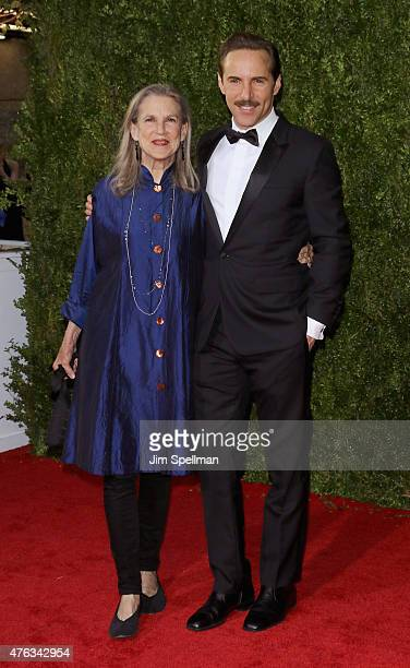 Alessandro Nivola attends American Theatre Wing's 69th Annual Tony Awards at Radio City Music Hall on June 7 2015 in New York City