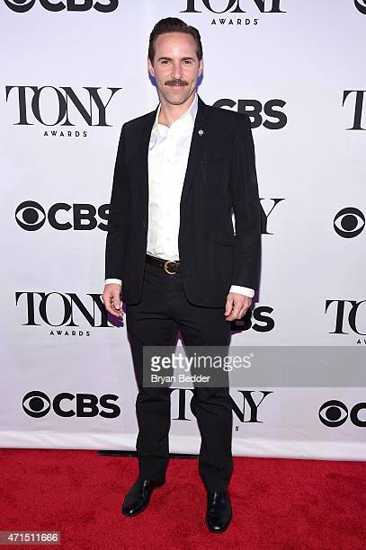 Alessandro Nivola attends the 2015 Tony Awards Meet The Nominees Press Reception at the Paramount Hotel on April 29 2015 in New York City