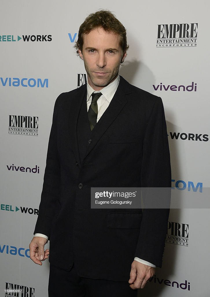 Alessandro Nivola attends the Reel Works 2012 Gala Benefit at The Edison Ballroom on October 10, 2012 in New York City.