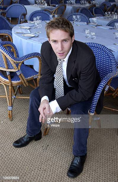 Alessandro Nivola during Cannes 2002 'Laurel Canyon' Portraits at Carlton Beach in Cannes France