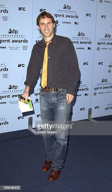 Alessandro Nivola during The 18th Annual IFP Independent Spirit Awards Arrivals at Santa Monica Beach in Santa Monica California United States