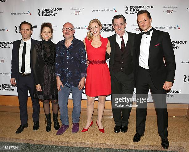 Alessandro Nivola Mary Elizabeth Mastrantonio Directpor Lindsay Posner Charlotte Parry Roger Rees and Chandler Williams attend the Opening Night...