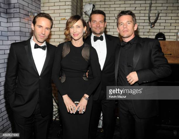 Alessandro Nivola Vera Farmiga Bradley Cooper and Ethan Hawke attend the 68th Annual Tony Awards at Radio City Music Hall on June 8 2014 in New York...