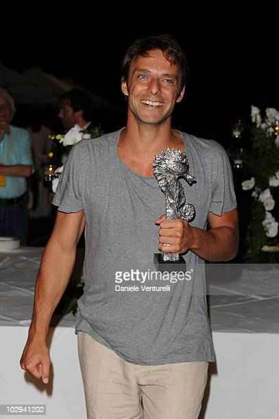 Alessandro Preziosi attends day six of the Ischia Global Film And Music Festival on July 16 2010 in Ischia Italy