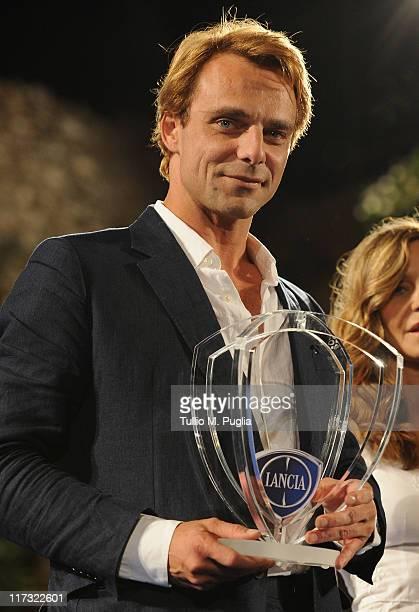 Alessandro Preziosi attends the Nastri d'Argento Ceremony Awards on June 25 2011 in Taormina Italy