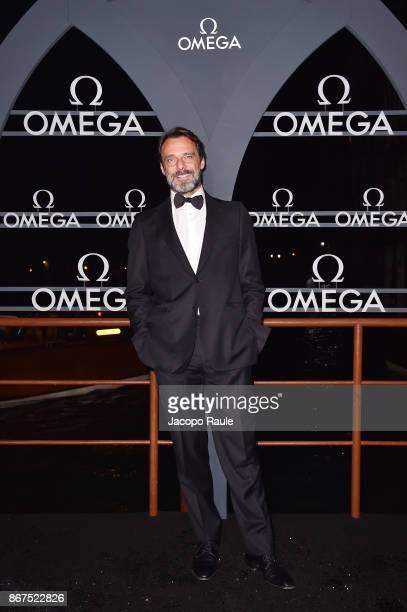 Alessandro Preziosi attends the OMEGA Aqua Terra at Palazzo Pisani Moretta on October 28 2017 in Venice Italy