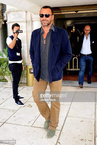 Alessandro Preziosi is seen during the 68th Venice Film Festival on September 7 2011 in Venice Italy