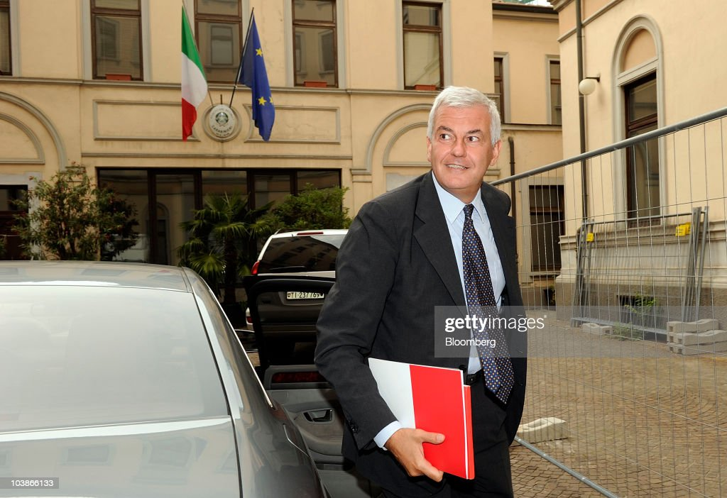 Unicredit CEO Alessandro Profumo Speaks To Foreign Journalists