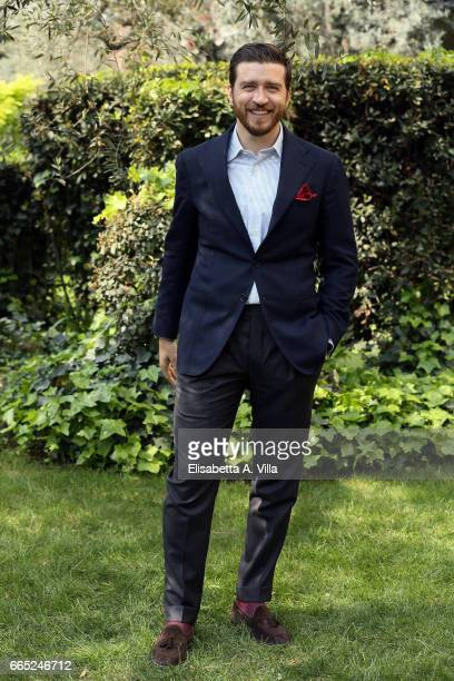 Alessandro Roja attends a photocall for 'Di Padre In Figlia' at Rai Viale Mazzini on April 6 2017 in Rome Italy