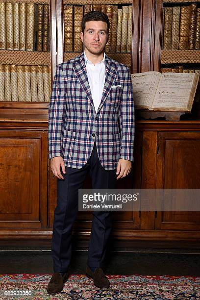 Alessandro Roja attends a private party to celebrate the Publication Of 'A Magazine Curated By Alessandro Michele' on November 17 2016 in Rome Italy