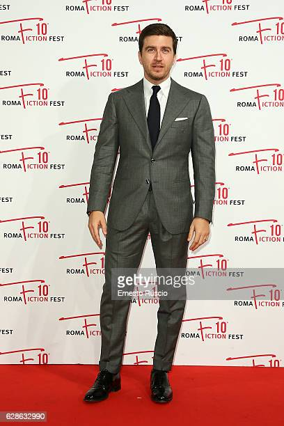 Alessandro Roja attends 'Di padre in figlia' red carpet during the Roma Fiction Fest 2016 at The Space Moderno on December 8 2016 in Rome Italy