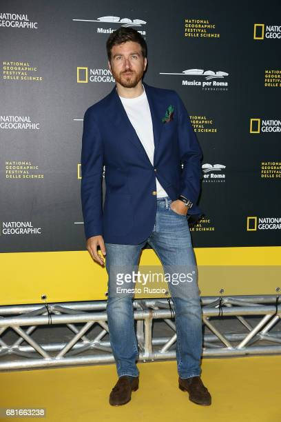 Alessandro Roja attends National Geographic's 'Genius Einstein' photocall at Auditorium Parco Della Musica on May 10 2017 in Rome Italy