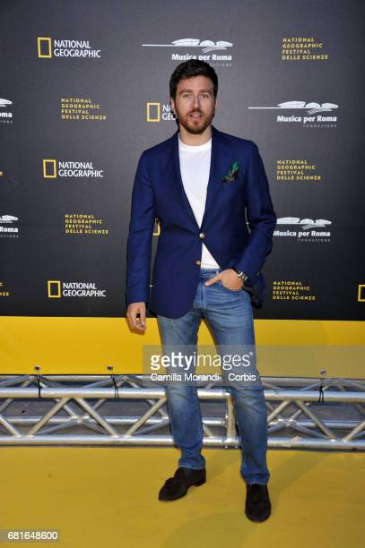 Alessandro Roja attends National Geographic's 'Genius Einstein' photocall on May 10 2017 in Rome Italy