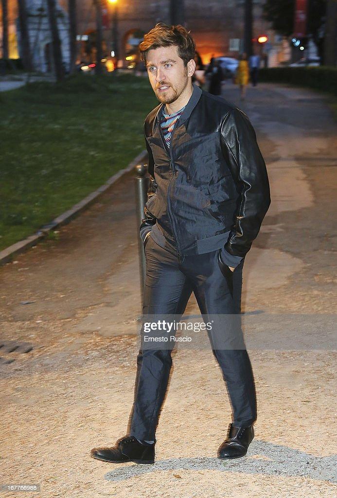 Alessandro Roja attends the 2013 Italian DVD Awards at Casa del Cinema on April 29, 2013 in Rome, Italy.
