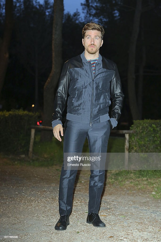 Alessandro Roja attends the 2013 Italian DVD Awards at Casa del Cinema on April 29, 2013 in Rome, Italy.