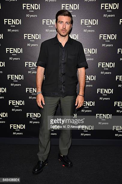 Alessandro Roja attends the Fendi Roma 90 Years Anniversary Welcome Cocktail at Palazzo Carpegna on July 7 2016 in Rome Italy