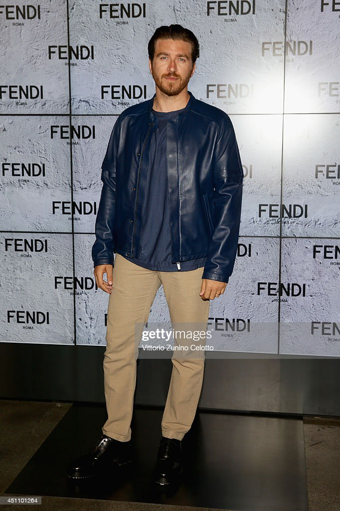 Alessandro Roja attends the Fendi show during Milan Menswear Fashion Week Spring Summer 2015 on June 23, 2014 in Milan, Italy.