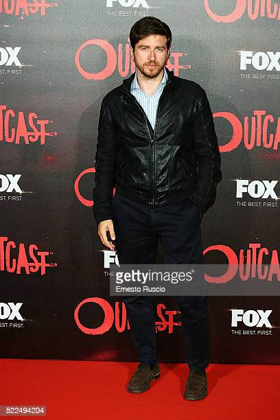 Alessandro Roja attends the 'Outcast' premiere at Auditorium Della Conciliazione on April 19 2016 in Rome Italy