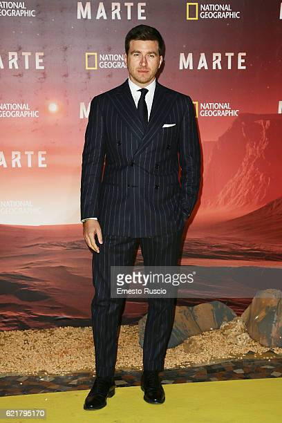 Alessandro Roja attends the premiere of 'Marte' at The Space Moderno on November 8 2016 in Rome Italy