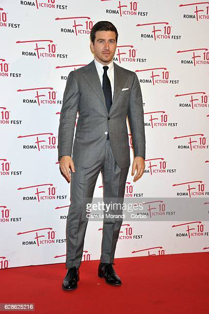 Alessandro Roja attends the red carpet for 'Di padre in figlia' on December 9 2016 in Rome Italy