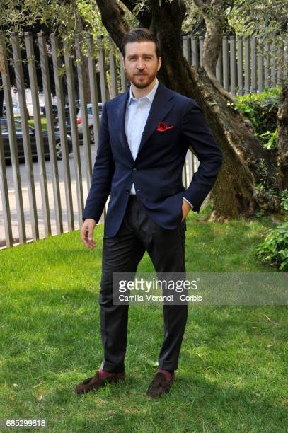 Alessandro Roja attends the Tv movie 'Di Padre in Figlia' Photocall on April 06 2017 in Rome Italy