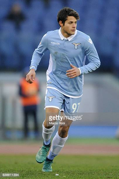 Alessandro Rossi of SS Lazio during the Serie A match between SS Lazio and FC Crotone at Stadio Olimpico on January 8 2017 in Rome Italy