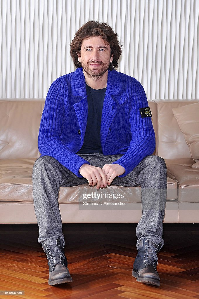Alessandro Siani attends 'Il Principe Abusivo' Photocall at Terrazza Martini on February 12, 2013 in Milan, Italy.