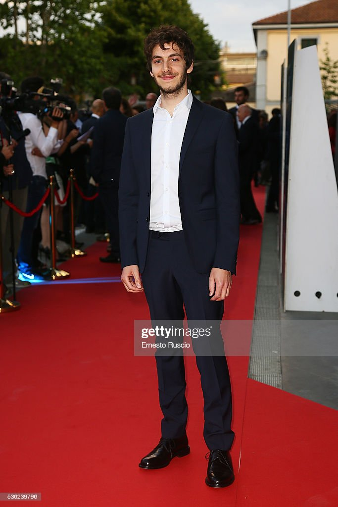 Alessandro Sperduti attends the Nastri D'Argento 2016 Award Nominations at Maxxi Museum on May 31, 2016 in Rome, Italy.