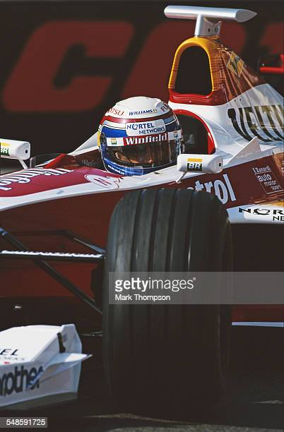 Alessandro Zanardi of Italy drives the Winfield Williams Williams FW21 Supertec FB01 V10 during the Grand Prix of Monaco on 16 May 1999 on the...
